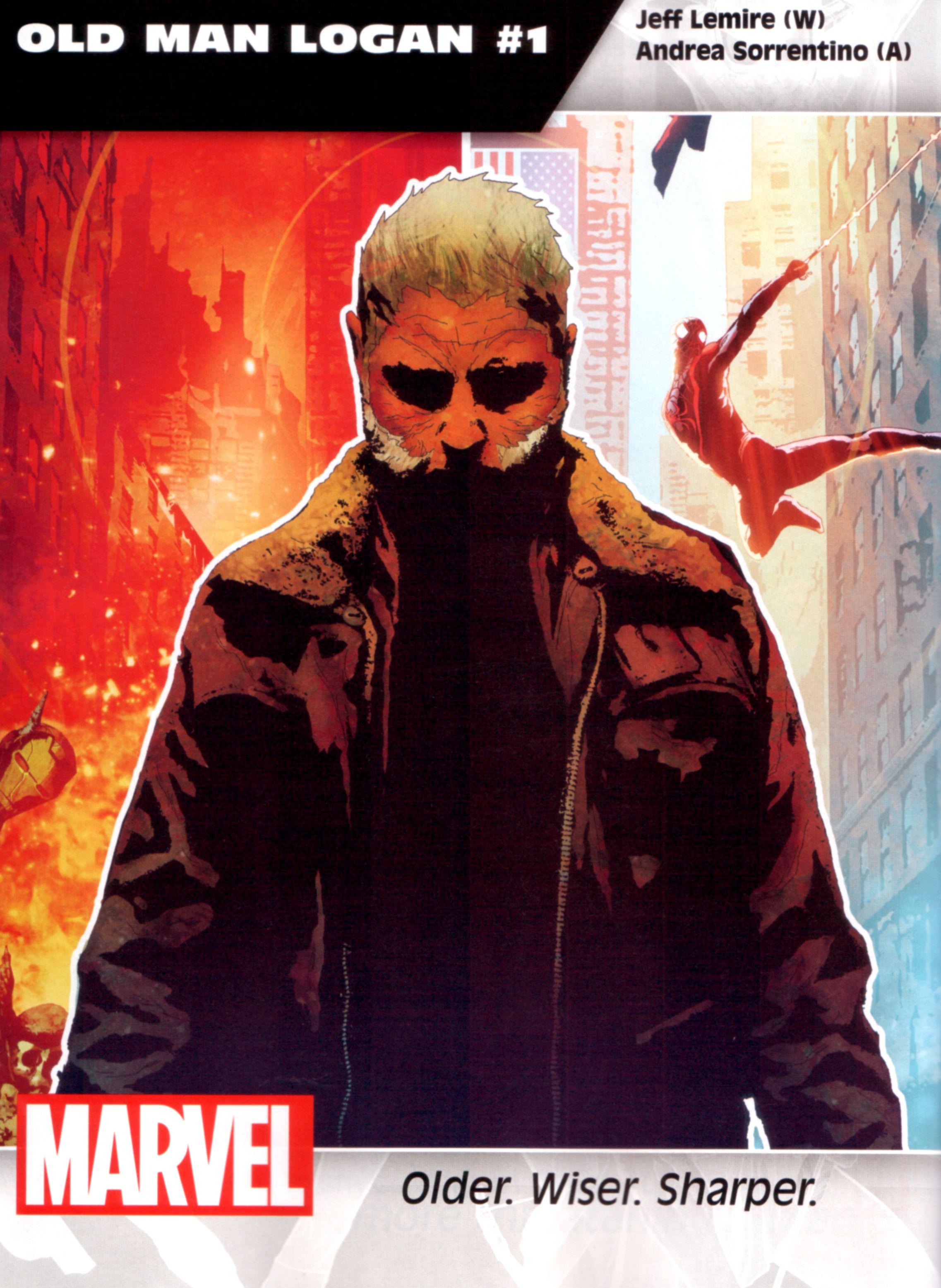 Old Man Logan #1 Volume 2 Midtown Comics