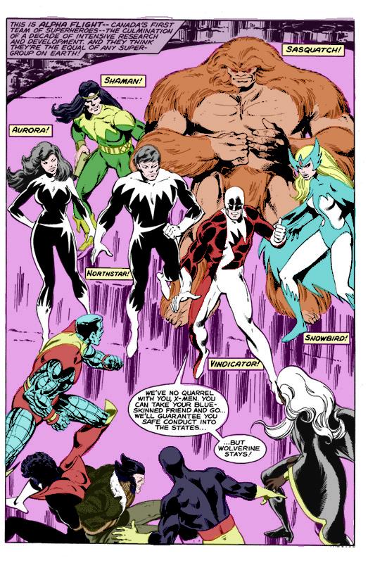 Uncanny X-Men / Alpha Flight (Coloring Book) | Comic Relief Podcast
