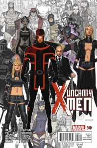 Uncanny X-Men #600 - the final issue of the series, but my final issue was long before this.